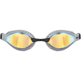 arena Airspeed Mirror Gafas Natación, yellow copper/silver